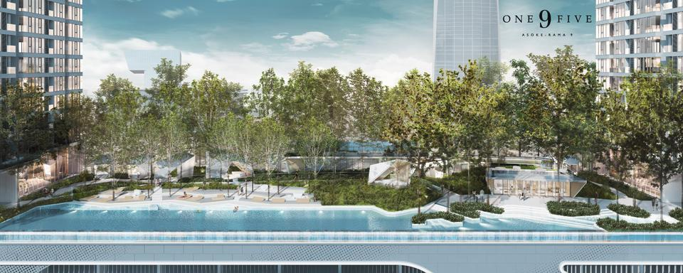 For Sale  One9Five Asoke-Rama9 รูปที่ 4