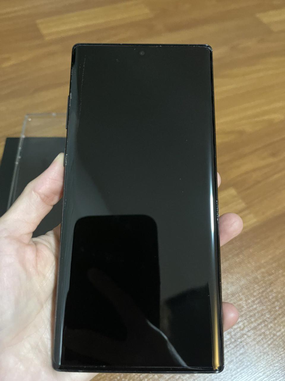 ขาย Samsung Note 10 + AuraBlack สภาพสวยมาก ของแท้ อุปกรณ์ครบยกกล่อง รูปที่ 1