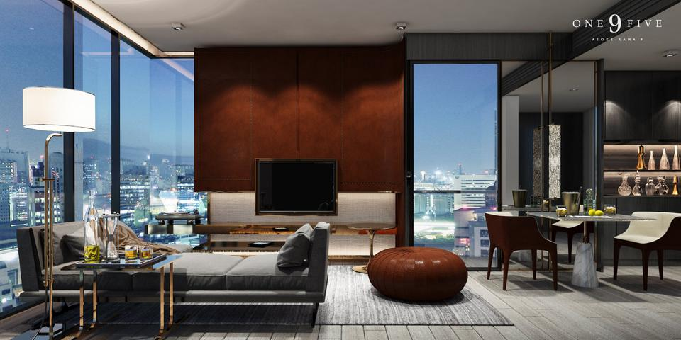 For Sale  One9Five Asoke-Rama9 รูปที่ 2