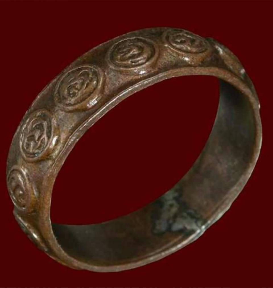 ขายแหวนมงคลเก้า วัดราชบพิตร ปลุกเสกครั้งที่4 ปี2481 รูปที่ 1