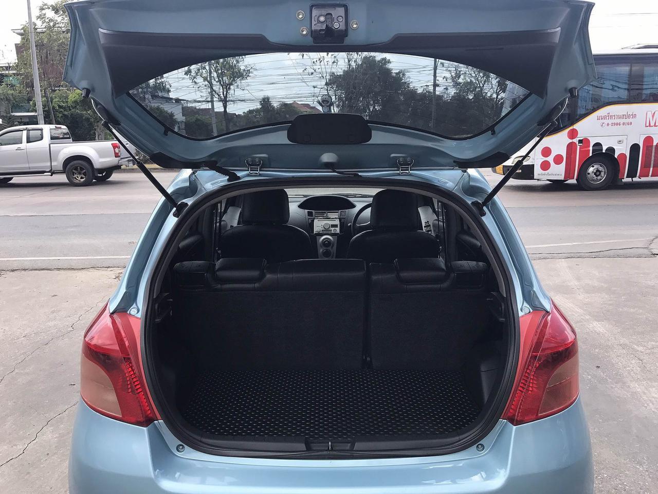 TOYOTA YARIS 1.5 G ปี2007 Auto รถบ้านมือเดียวไม่มีชนสวยกริบไม่ติดแก็ส รูปที่ 5