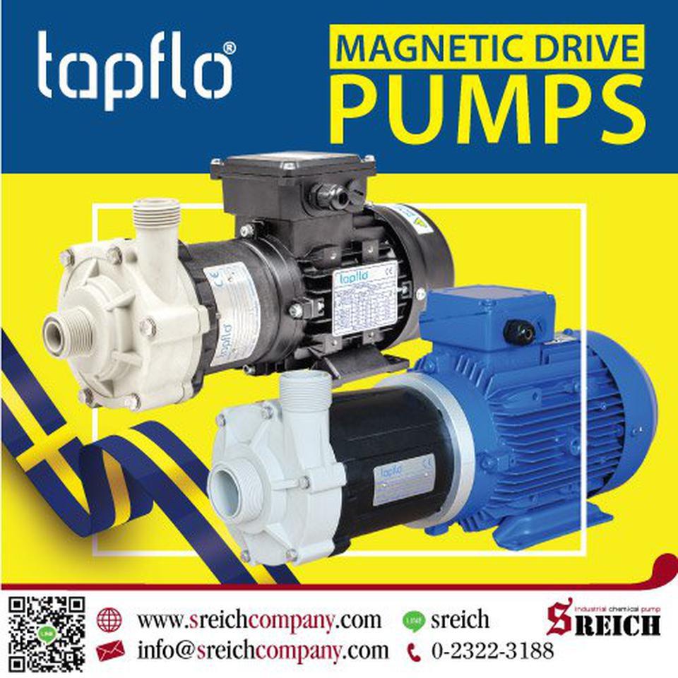 Tapflo CTX-I Centrifugal pumps ปั๊มเคมีเข้มข้นประสิทธิภาพสูง รูปที่ 1