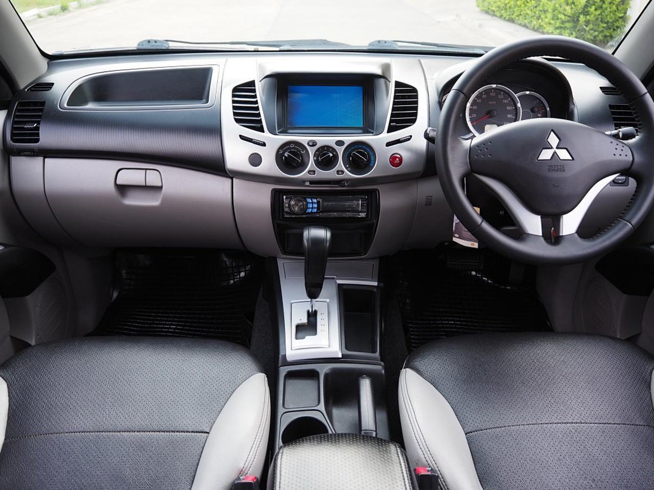 MITSUBISHI TRITON CAB 2.5 GLS PLUS VG Turbo ปลายปี 2012 จดปี 2013 เกียร์ออโต้ SporTronic สภาพนางฟ้า  รูปที่ 4