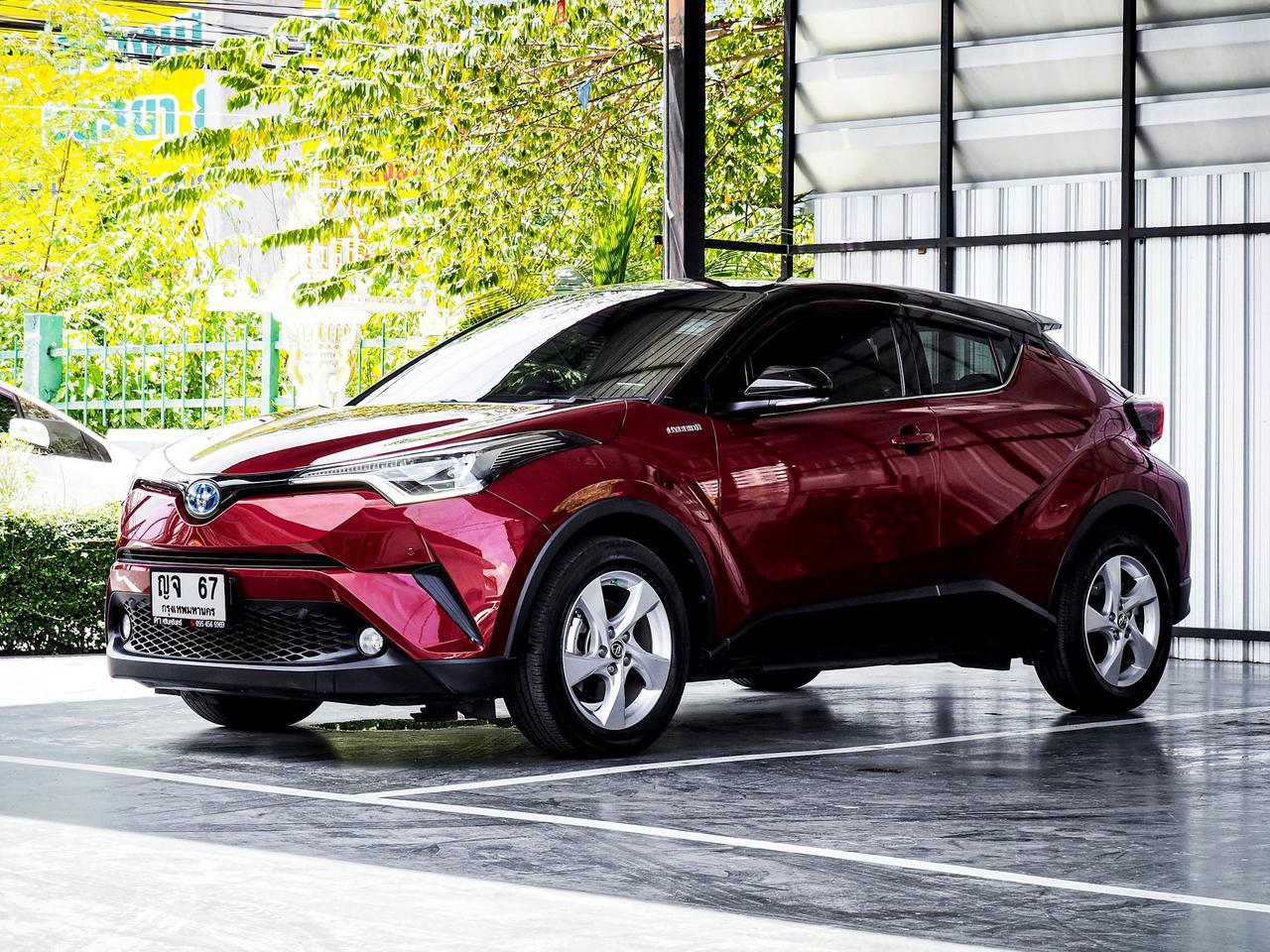 Toyota CHR HV Hi รุ่น Top สุด ปี 2019 เลขไมล์ 60,000 กิโล รูปที่ 3