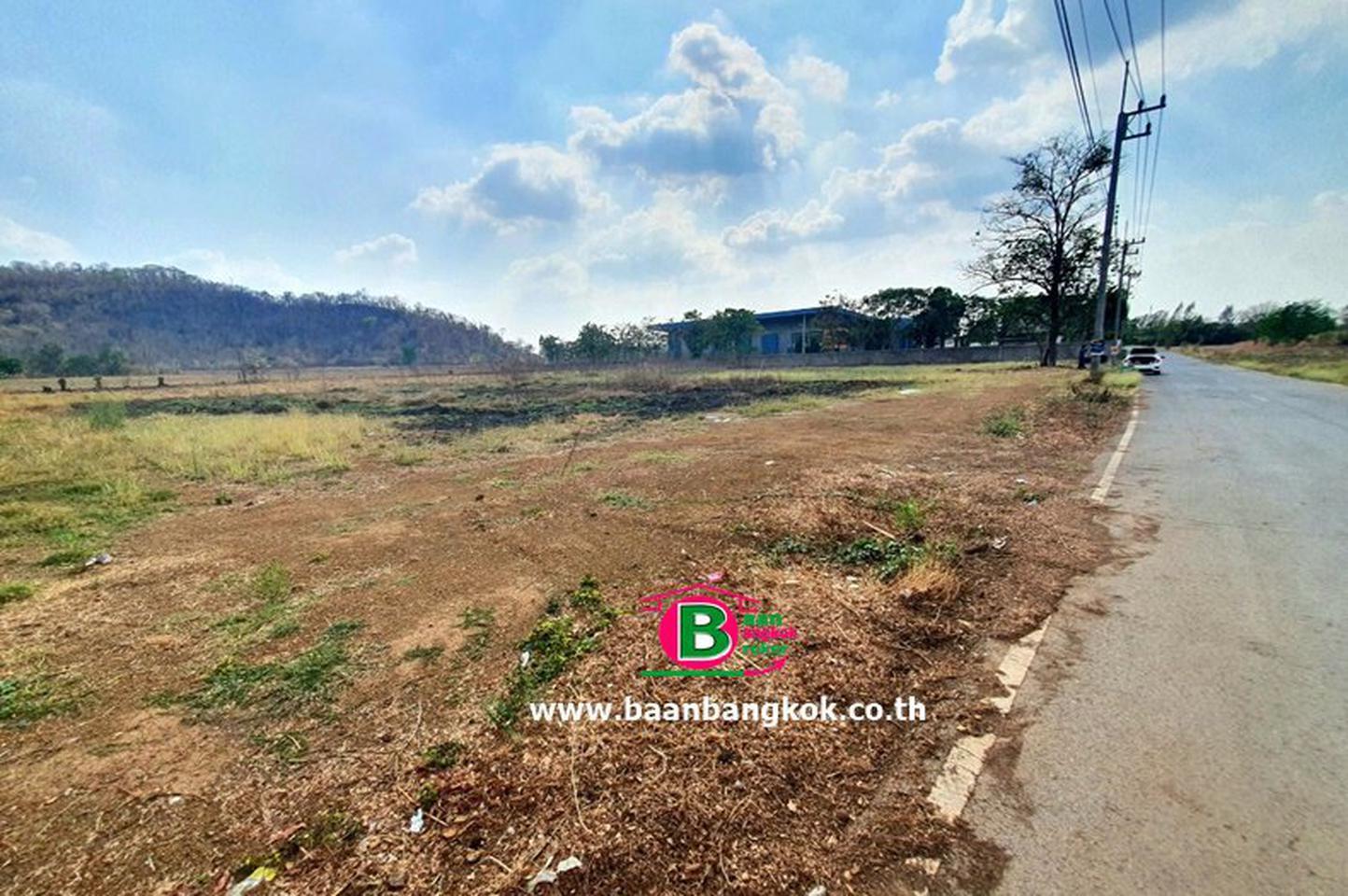 ที่ดินเปล่า 5-1-37 ไร่ แก่งคอย สระบุรี หน้ากว้างประมาณ 86 M x 100 M เป็นพื้นที่สีเขียว ทำโรงงานที่เกี่ยวข้องกับการเกษตร รูปที่ 2