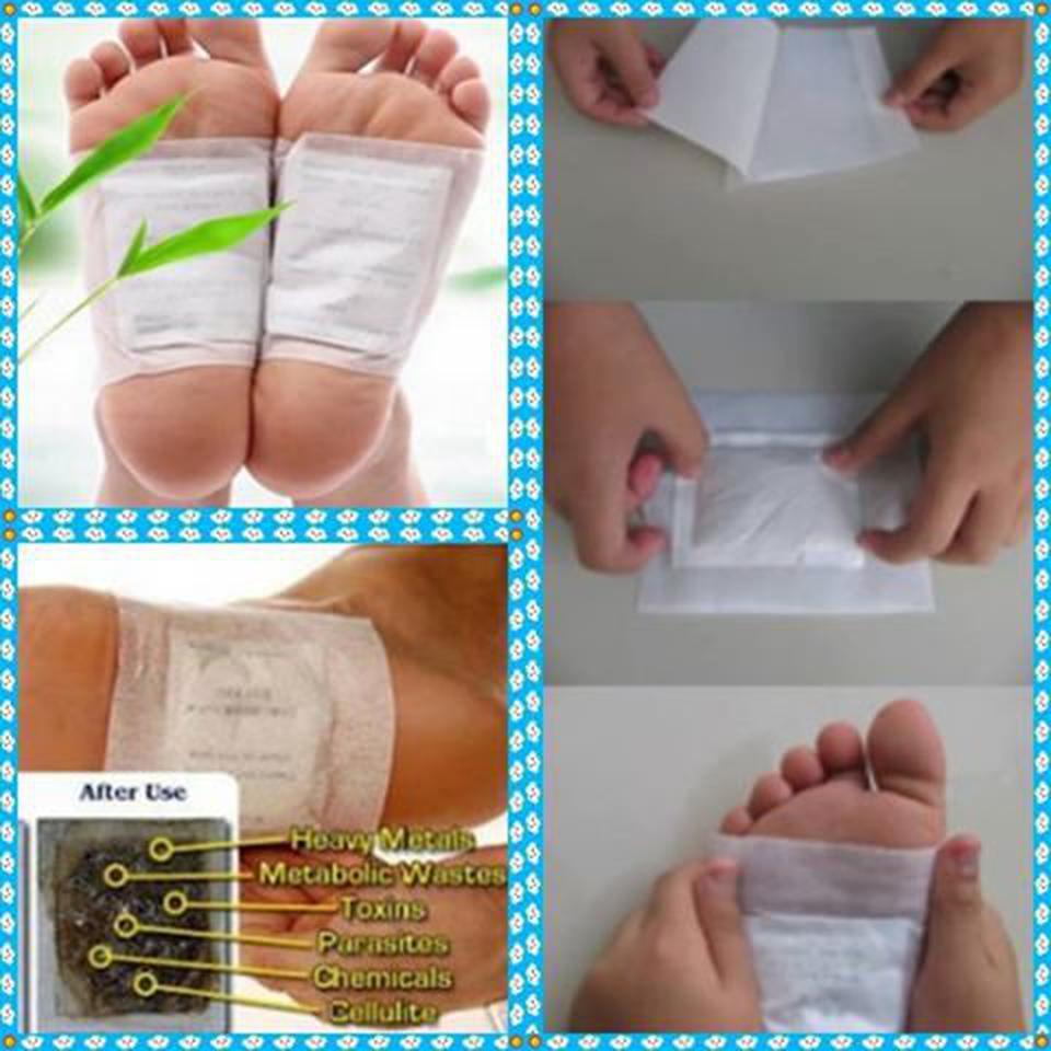 แผ่นแปะเท้า Detox ได้ทุกส่วน รูปที่ 1