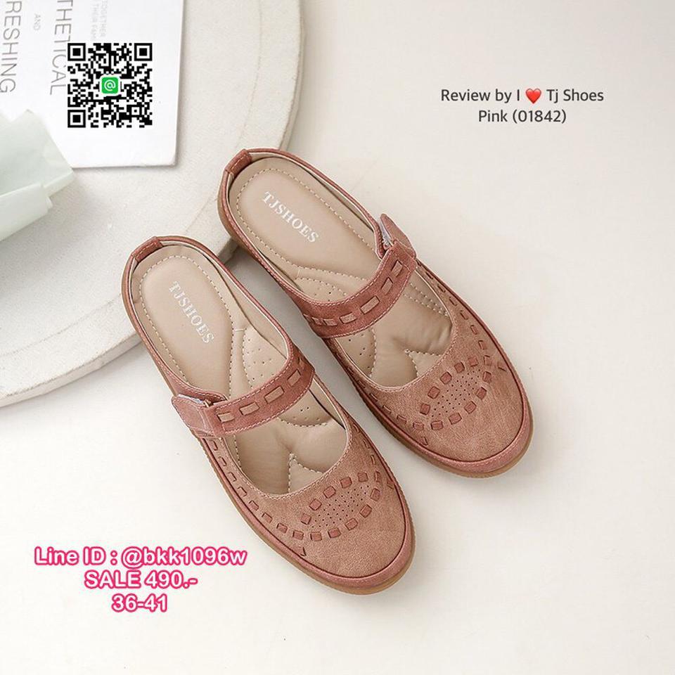 รองเท้าเปิดส้น งานน่ารักสุดๆ หนังPUนิ้มนิ่ม น้ำหนักเบา ใส่นุ่มเดินสบายมากๆ รูปที่ 3