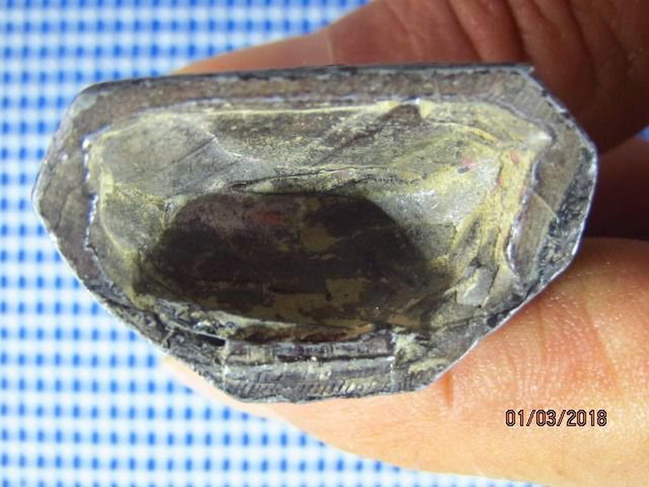 5131 พระบูชาเนื้อตะกั่วสนิมแดง ปิดทองเก่า ฐานกว้าง 1.4 นิ้ว  รูปที่ 1