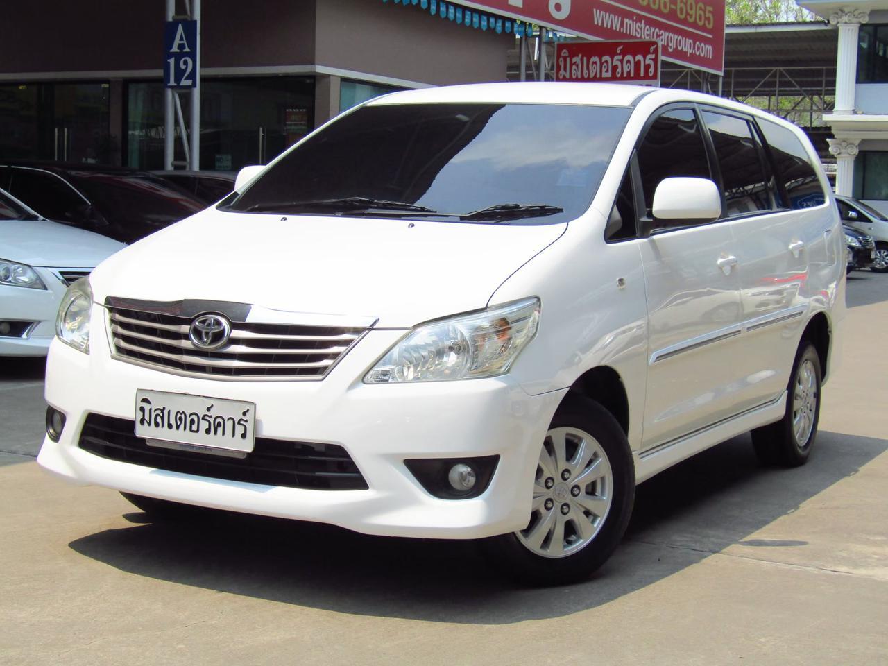 2012 Toyota Innova 2.0 (ปี 11-15) G Wagon รูปที่ 1