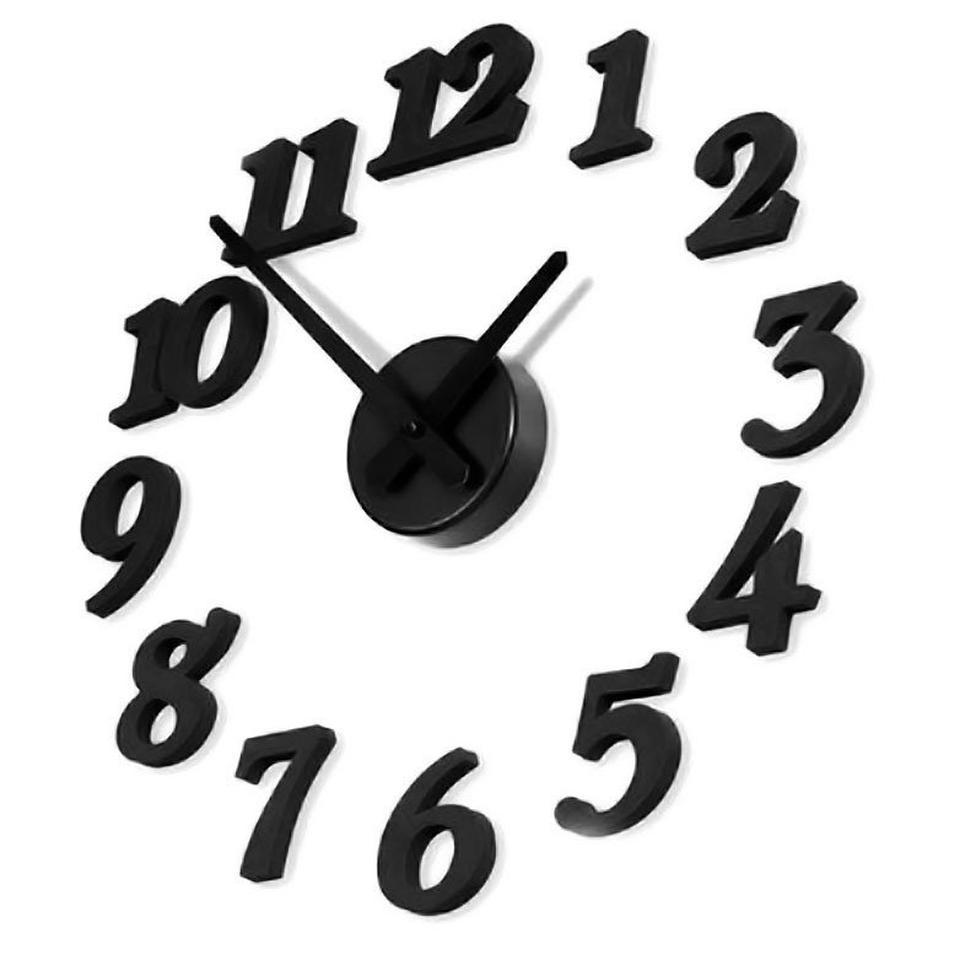 นาฬิกาติดผนังแบบโมเดิร์น ไม่ต้องเจาะผนัง ราคาขายส่ง รูปที่ 1