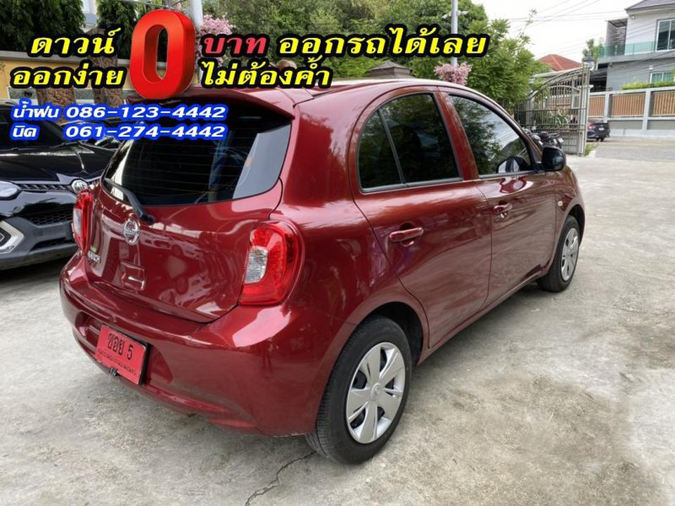 NISSAN MARCH 1.2E 2019 รูปที่ 2
