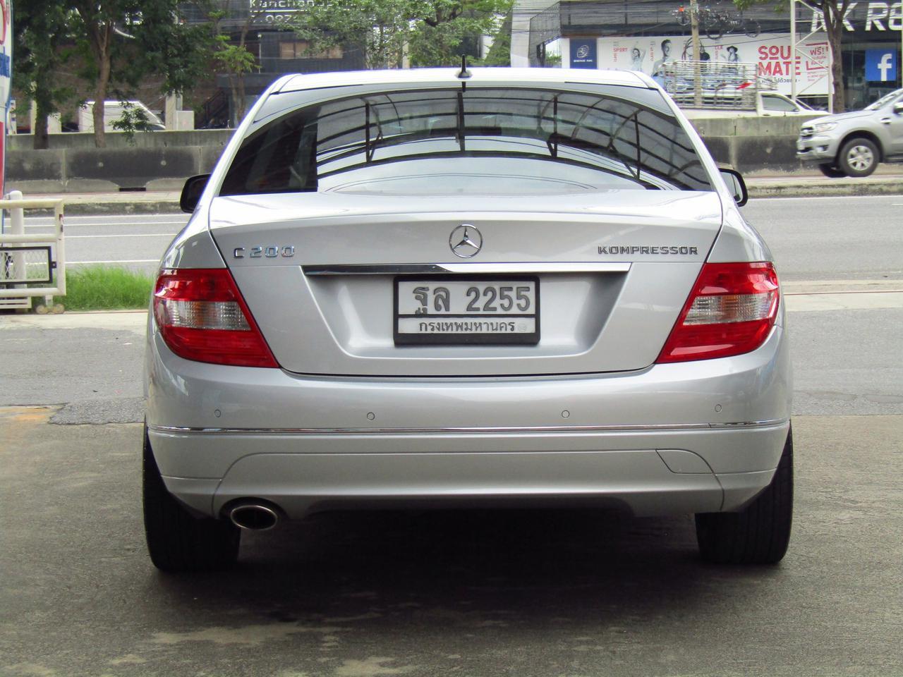 ⭐ ฟรีดาวน์ ออกรถ 0 บาท Benz C 200 K ELEGANCE ปี 2008 W 204 เบ็นซ์ รถบ้าน รถมือสอง รูปที่ 3
