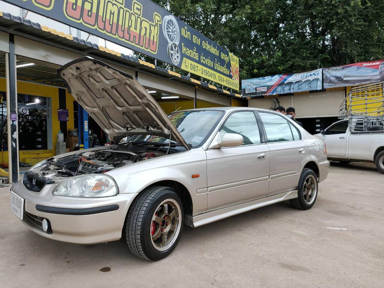 ขายรถเก๋ง Honda civic ตาโตปี 96  จ.พิษณุโลก รูปที่ 5