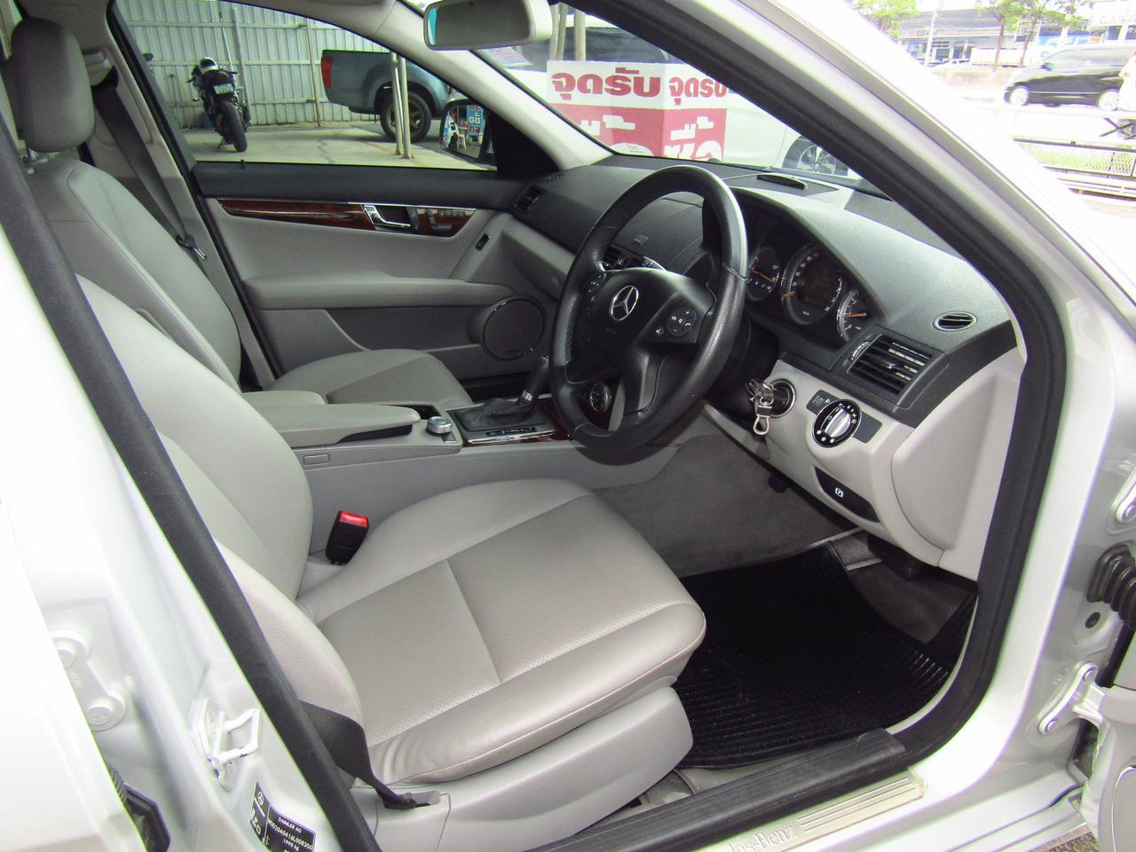 ⭐ ฟรีดาวน์ ออกรถ 0 บาท Benz C 200 K ELEGANCE ปี 2008 W 204 เบ็นซ์ รถบ้าน รถมือสอง รูปที่ 5