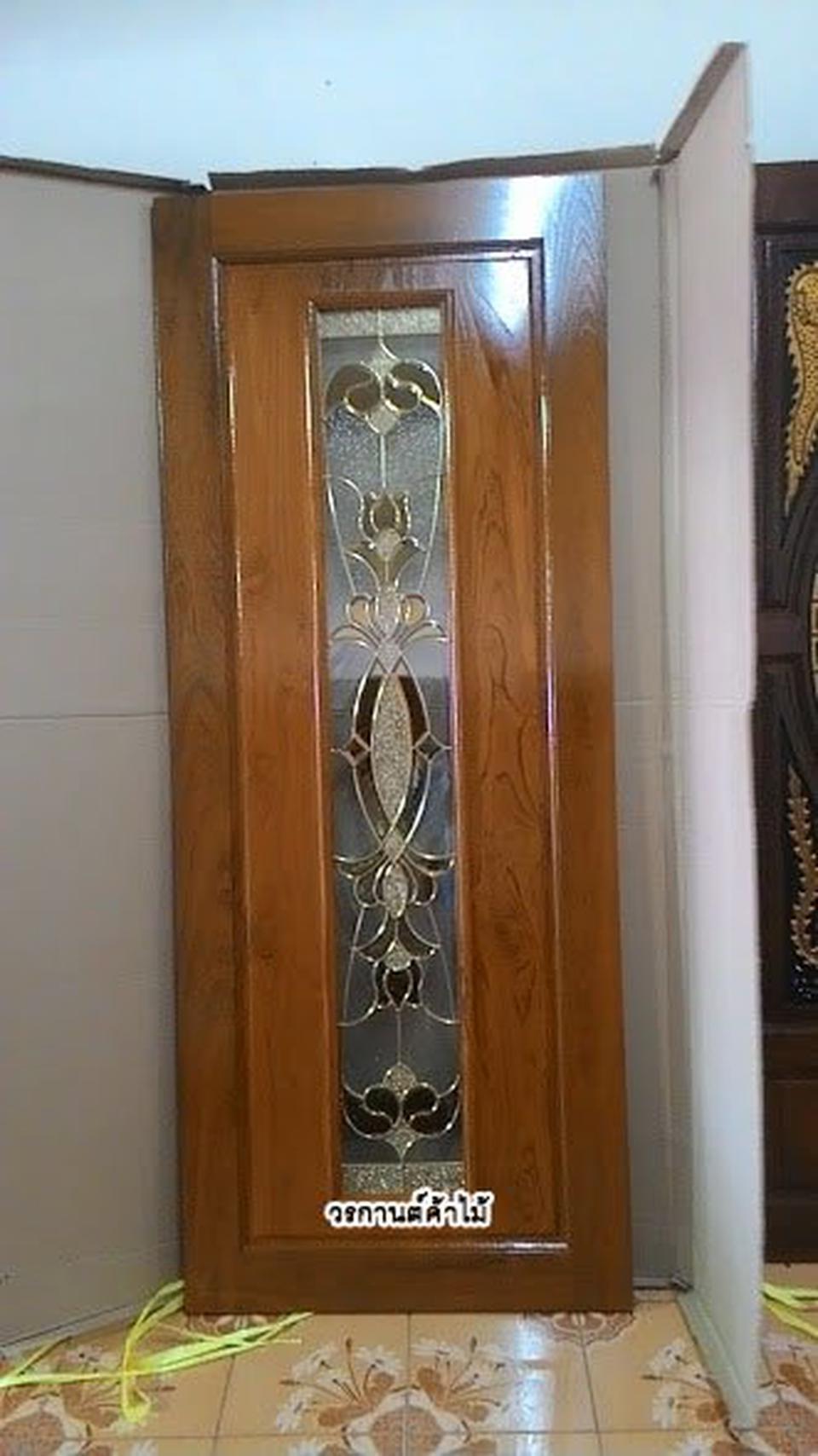 ร้านวรกานต์ค้าไม้ จำหน่ายประตูไม้สัก,ประตูไม้สักกระจกนิรภัย,เฟอร์นิเจอร์ ไม้สักทุกชนิด ทั้งปลีกและส่ง รูปที่ 6