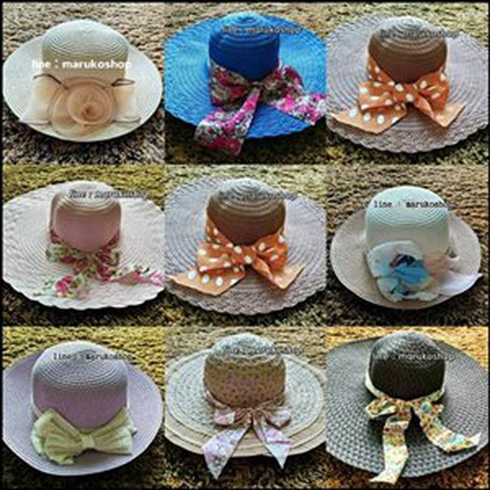หมวกแฟชั่น หมวกไปทะเล หมวกปานามา สวยๆราคาถูกๆ รูปที่ 1