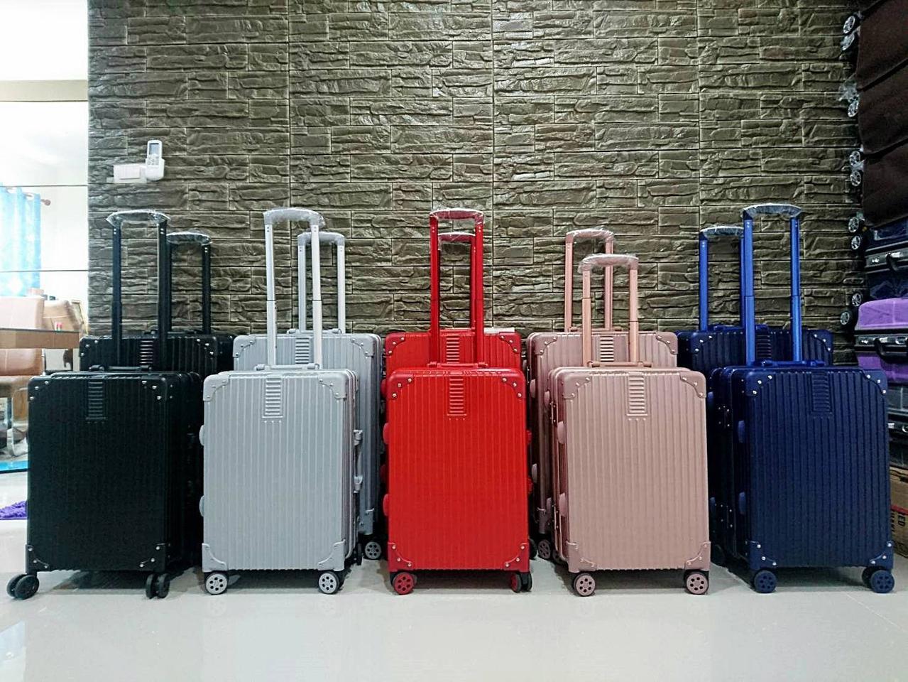 กระเป๋าเดินทาง ขอบอลูมิเนียม รุ่น คัลเลอร์ฟูล รูปที่ 1