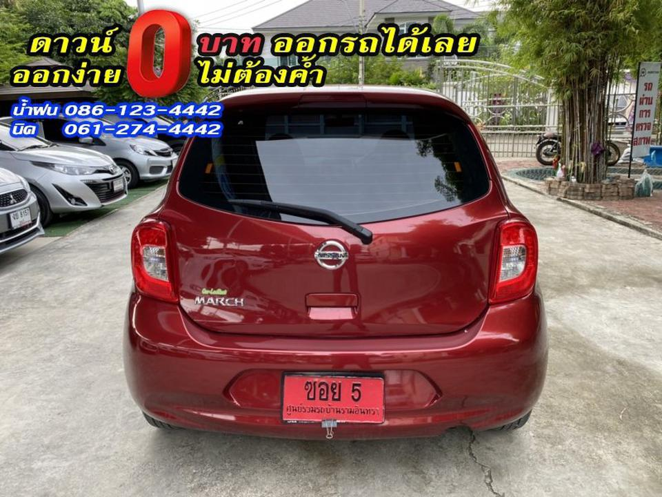 NISSAN MARCH 1.2E 2019 รูปที่ 6