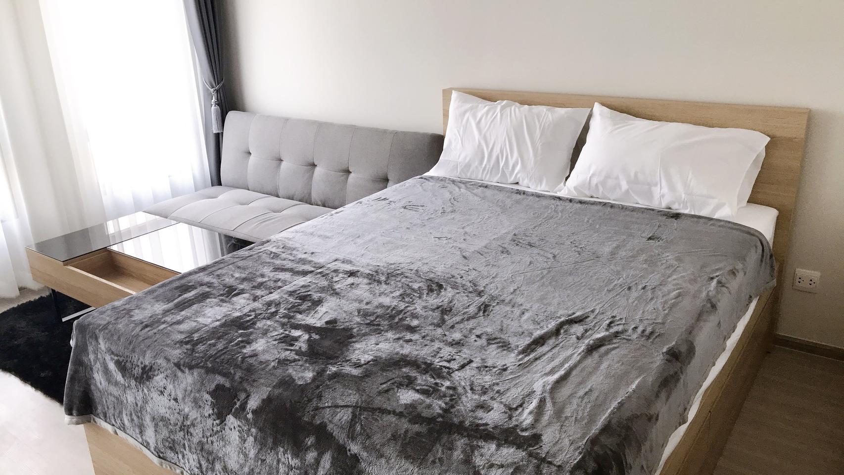 Fully furnished For rent ให้เช่า ฿12,000 ห้อง 25 ตร.ม. 8F ใหม่พร้อมอยู่ Aspire อโศก-รัชดา **รับ Agent รูปที่ 6