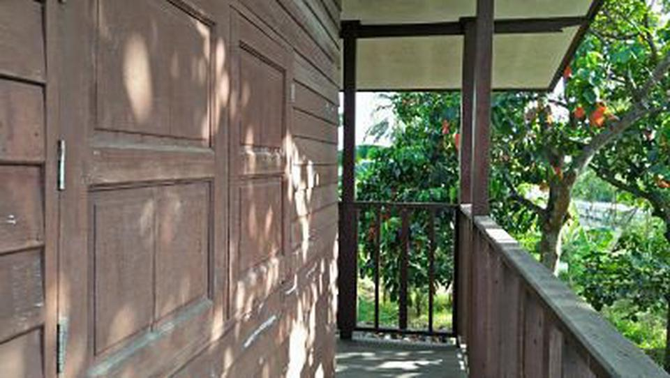 Sale land and small house can adapt will be Home stay  รูปที่ 3
