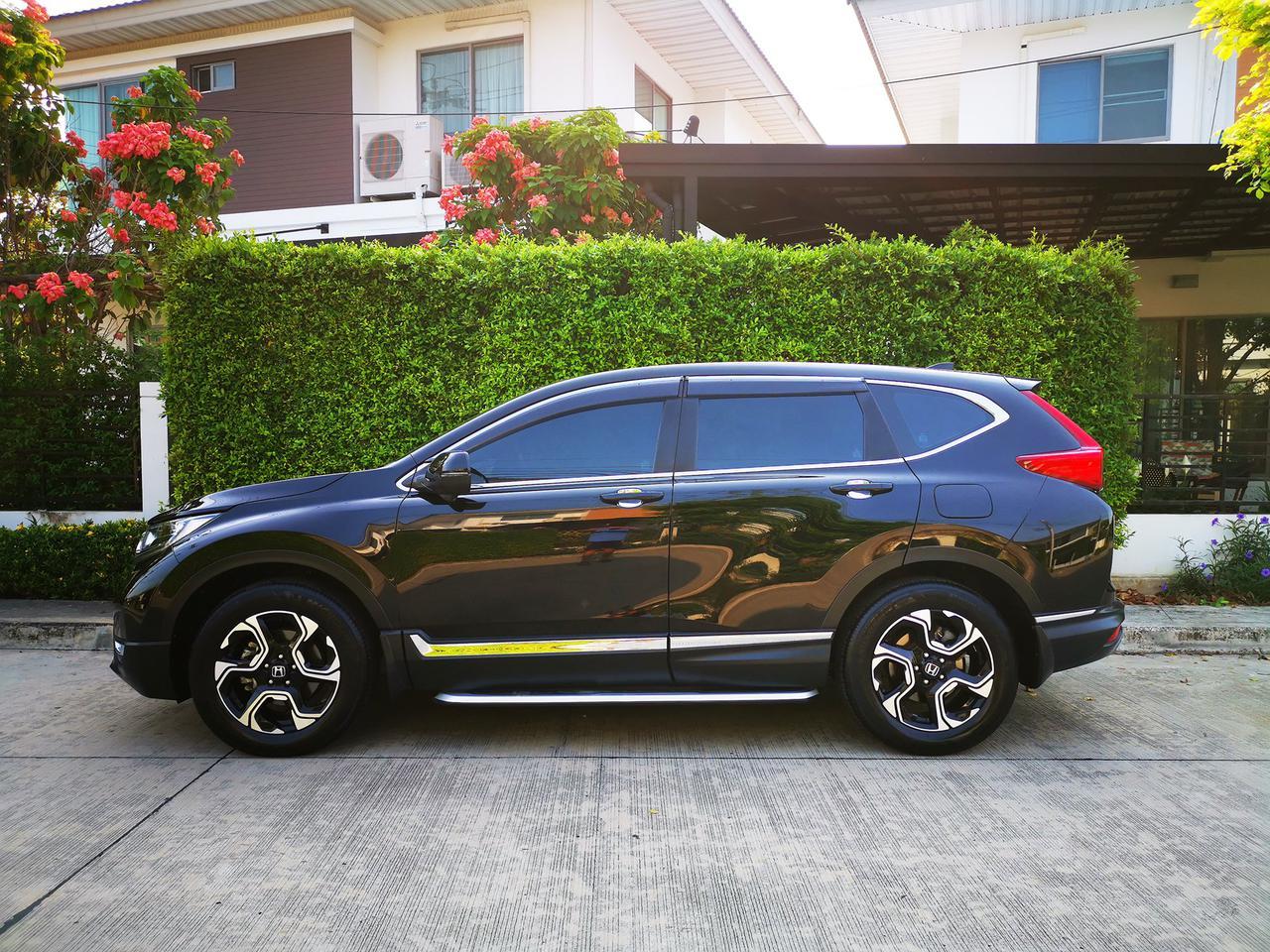 ขายรถ Honda CR-V 1.6 EL ปี 2019 สีดำ รุ่นท๊อปสุด เครื่องยนต์ดีเซล 4WD มือเดียว สภาพป้ายแดง รูปที่ 2