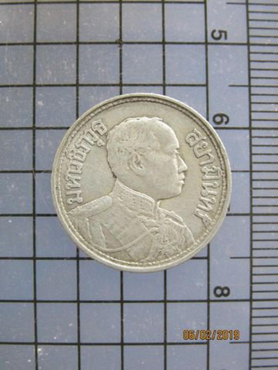 5240 เหรียญ ร.6 เนื้อเงิน 25 สต. ปี2462 ปี2467 ปี2468 สวย เห รูปที่ 1