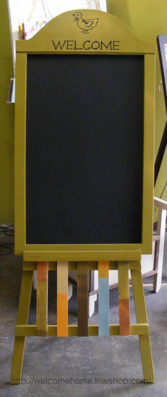 กระดานดำตั้งพื้น ของตกแต่งหน้าร้านขายของเก๋ๆครับ รูปที่ 3