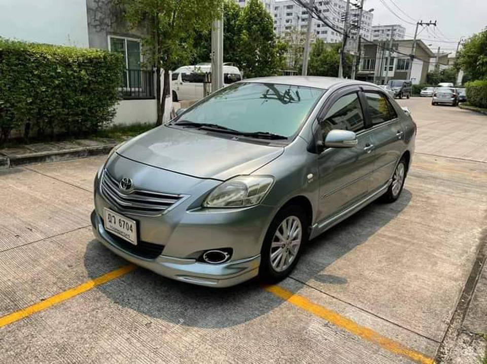 Toyota Vios 1.5E A/T ปี 2010 รูปที่ 1