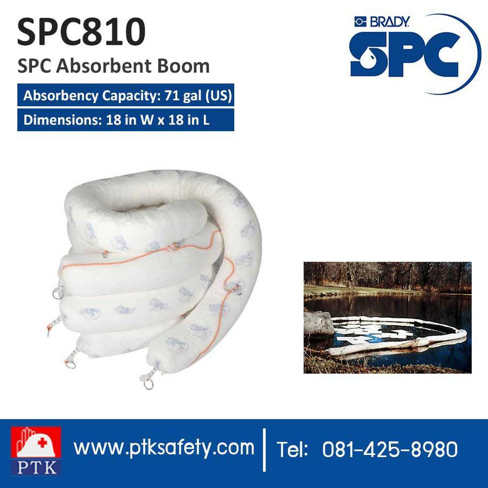วัสดุดูดซับ ฉุกเฉิน SPC Absorbent Boom SPC810 รูปที่ 1