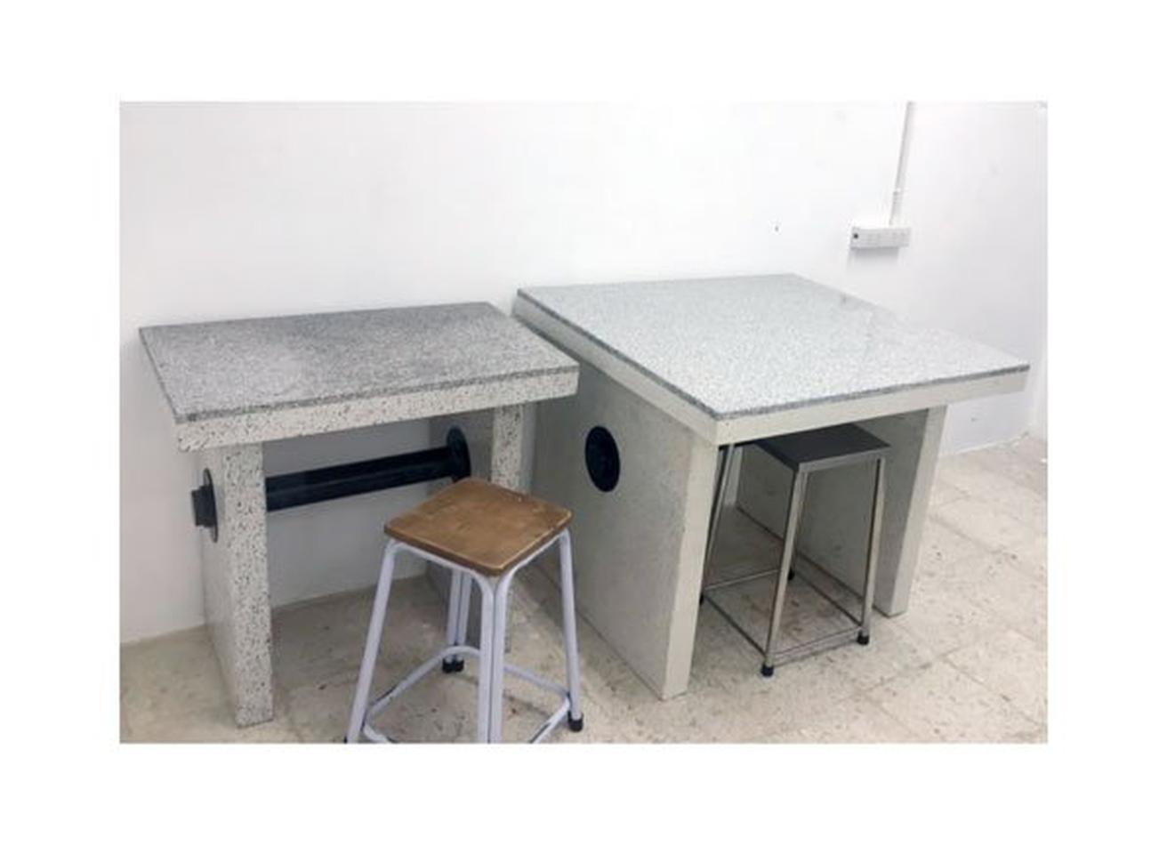 โต๊ะสำหรับวางเครื่องชั่งน้ำหนัก (แผ่นหินแกรนิต) รูปที่ 1