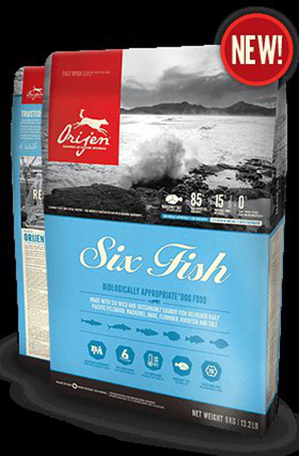 Orijen Six Fish ชนิดเม็ด สูตรปลา 6 ชนิด 12 กิโลกรัม รูปที่ 1