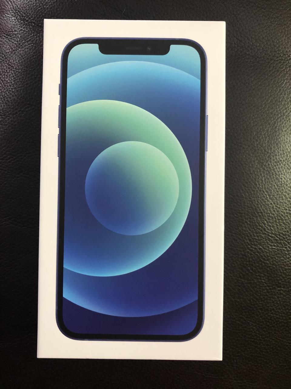 Iphone 12 256 gb สีน้ำเงิน แท้ ของใหม่  รูปที่ 1