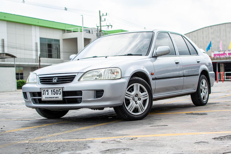 รถบ้าน ปี 2001 Honda City 1.5EXI เบนซิน สีเทา รูปที่ 1