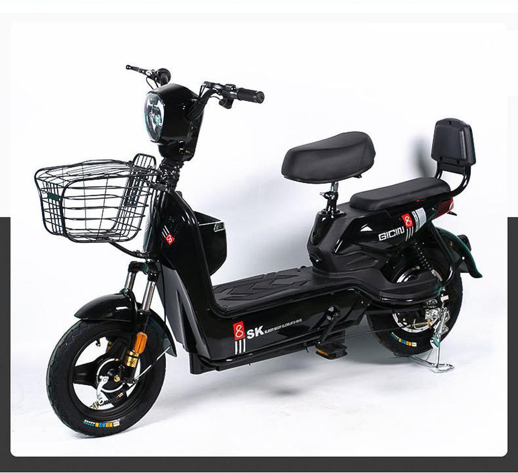 💥(จำนวนจำกัด)รถไฟฟ้า จักรยานไฟฟ้ารุ่นอัพเกรด  มีที่ปั่น มอเตอร์48V เหมาะสำหรับขับในเมือง มี 4 สี รูปที่ 5