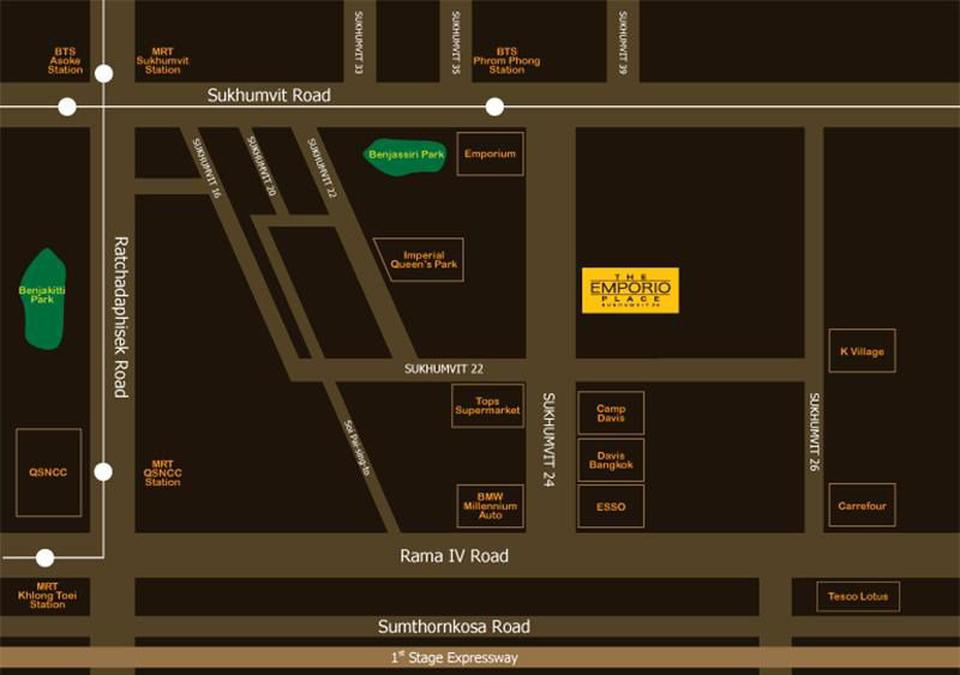 The Emporio Place sukhimvit 24 for rent  รูปที่ 3