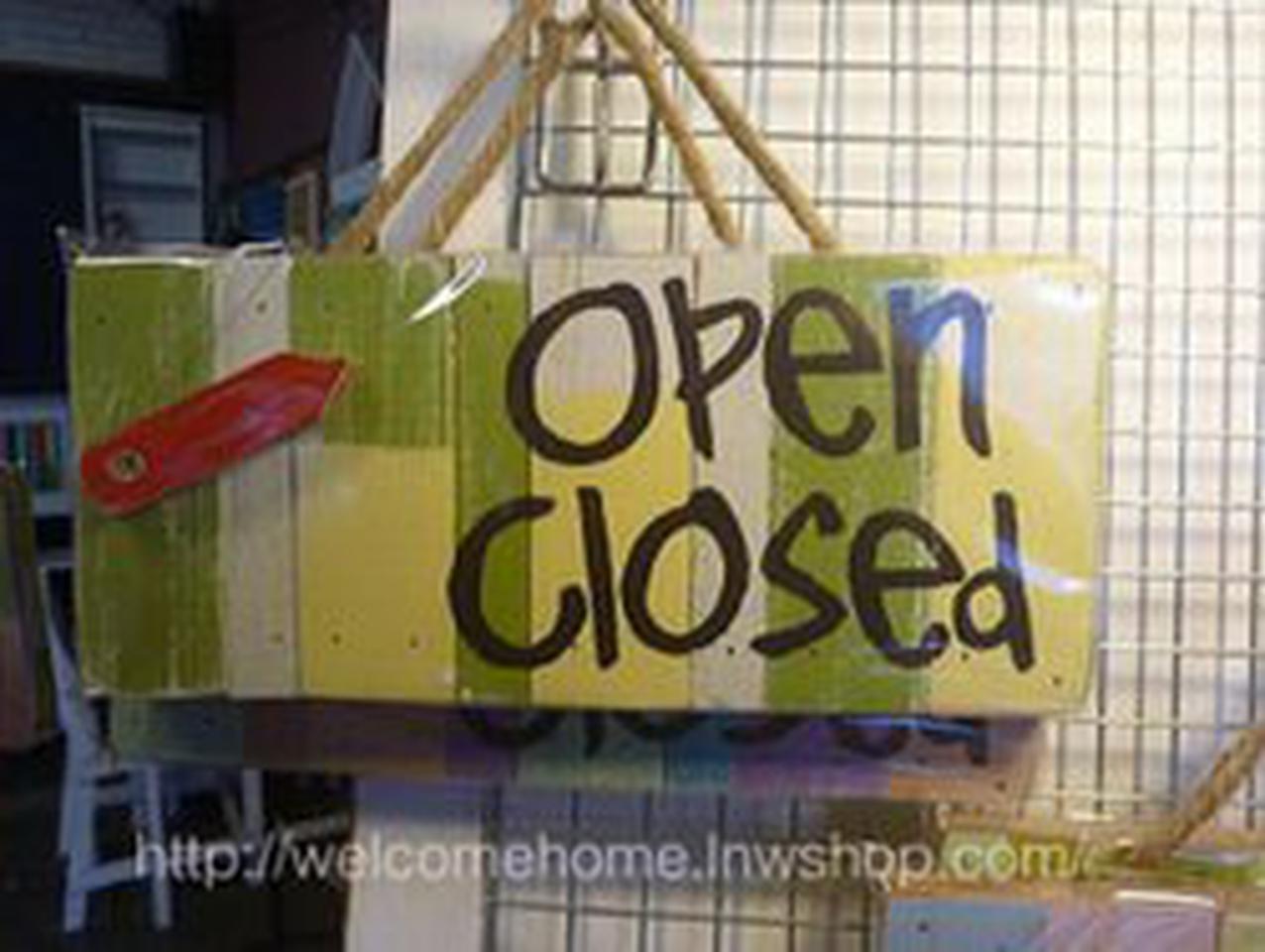 ป้ายเปิด-ปิดสวยๆสำหรับตกแต่งหน้าร้านอาหารตามสั่งร้านกาแฟครับ รูปที่ 3