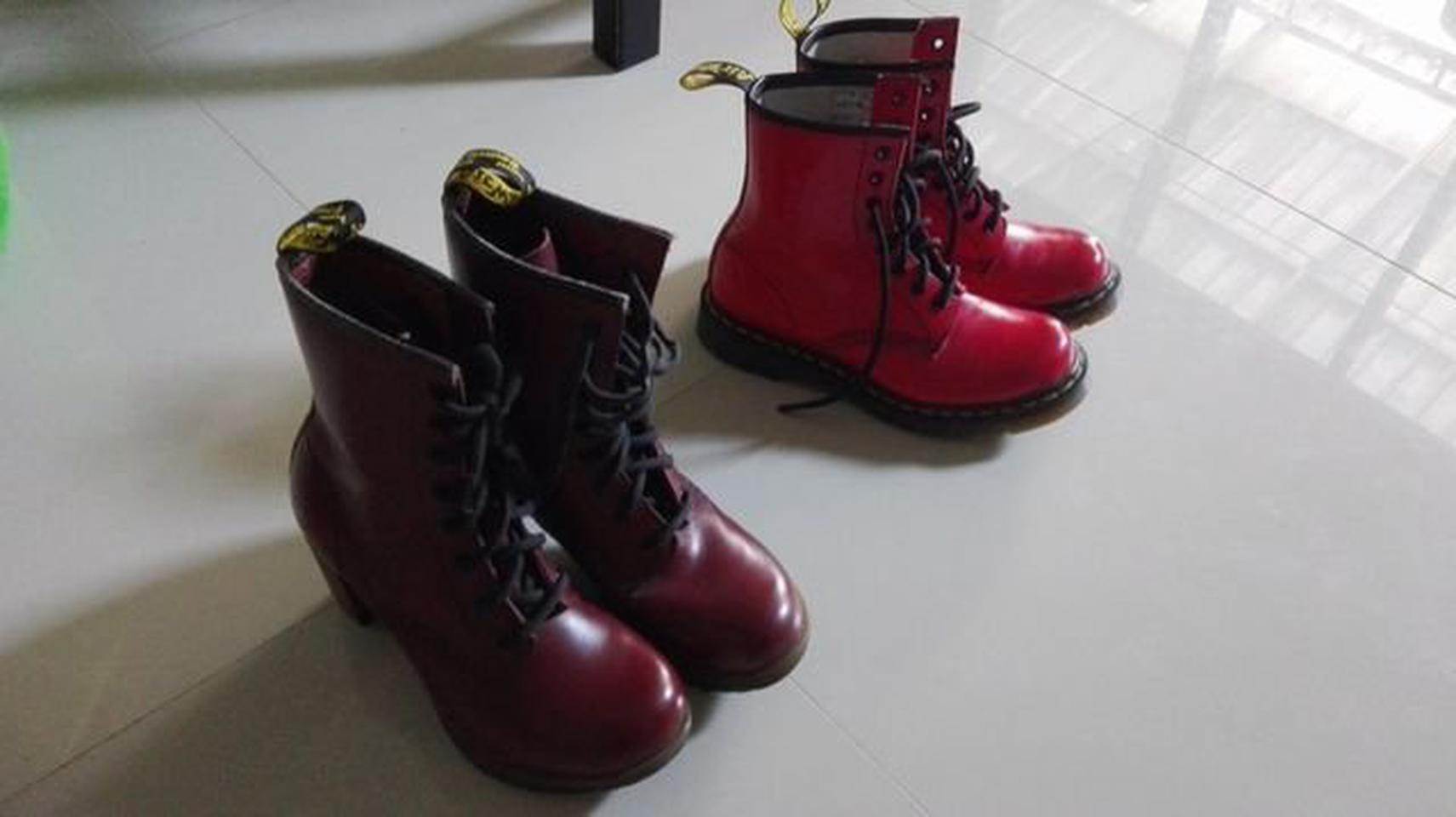 รองเท้า Dr. Martens SADIE High heeled ankle boots รูปที่ 2