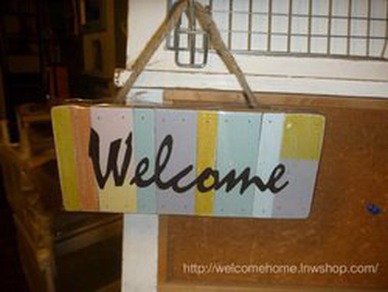 ป้ายยินดีต้อนรับสำหรับตกแต่งร้านกาแฟน่ารักๆครับ รูปที่ 2