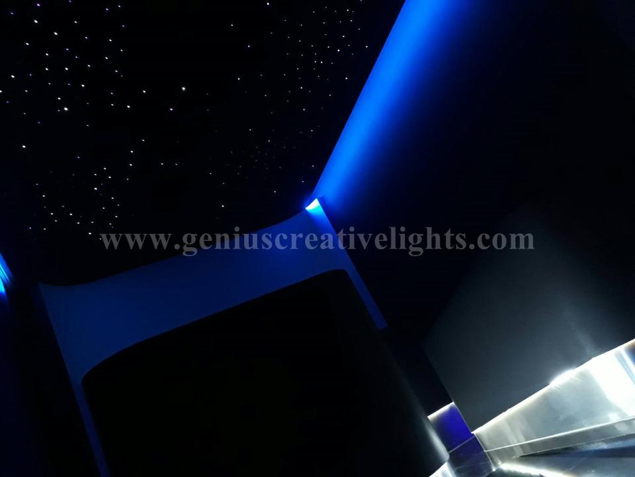 Fiber optic stars ceiling(ดาวบนฝ้าเพดาน) รูปที่ 6
