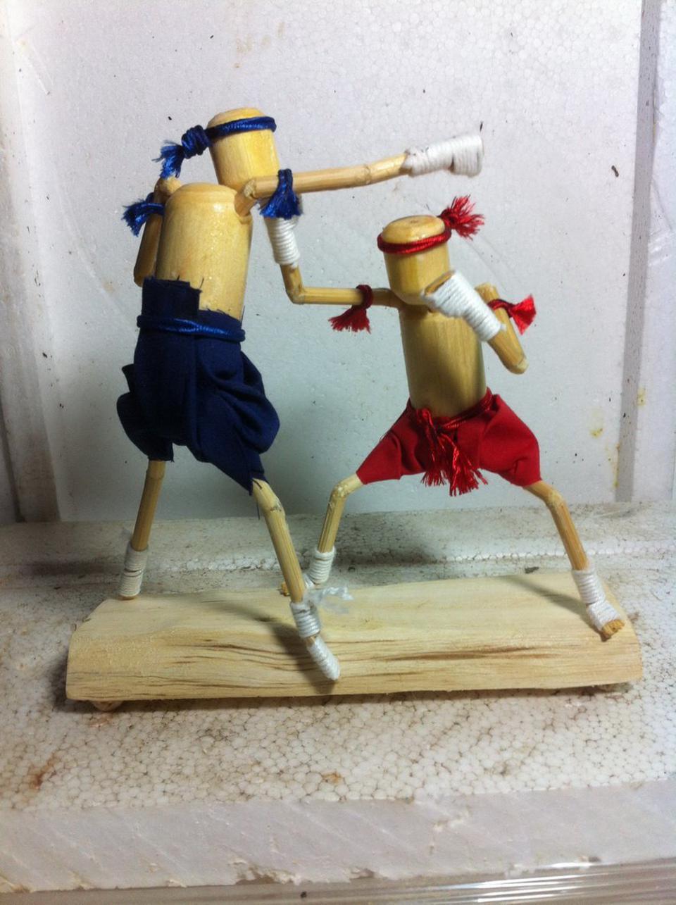 ตุ๊กตาไม้มวยไทย รูปที่ 2