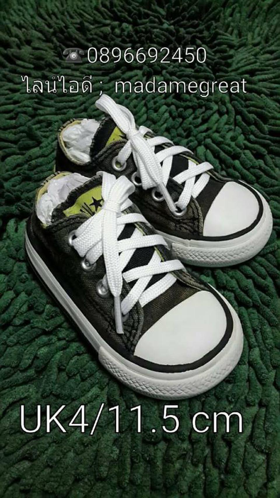 รองเท้าเด็ก. CONVERSE ของแท้มือสองจากนอกสภาพดี รูปที่ 1