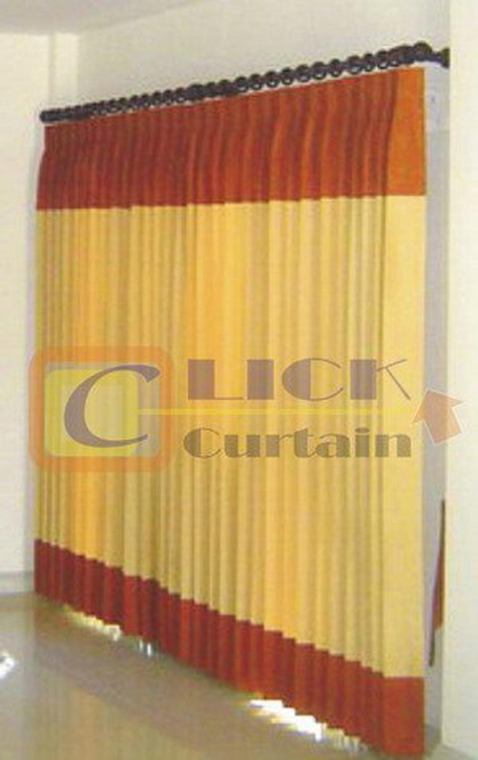 Click Curtain  ผ้าม่านสำเร็จรูปที่มีจำหน่ายหลากสไตล์ เช่น ม่านตอกตาไก่,ม่านคอกระเช้าและม่านจีบ ให้เลือกสรรเพื่อเหมาะกับก รูปที่ 5
