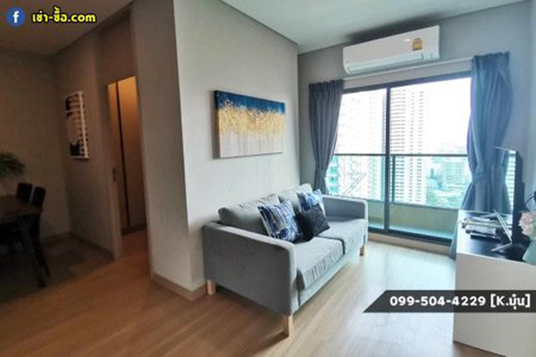 ให้เช่า คอนโด 2 ห้องนอน เครื่องใช้ครบครัน Lumpini Suite เพชรบุรี-มักกะสัน 43 ตรม. แถมยัง Built-In ทั้งห้องด้วยนะ รูปที่ 2