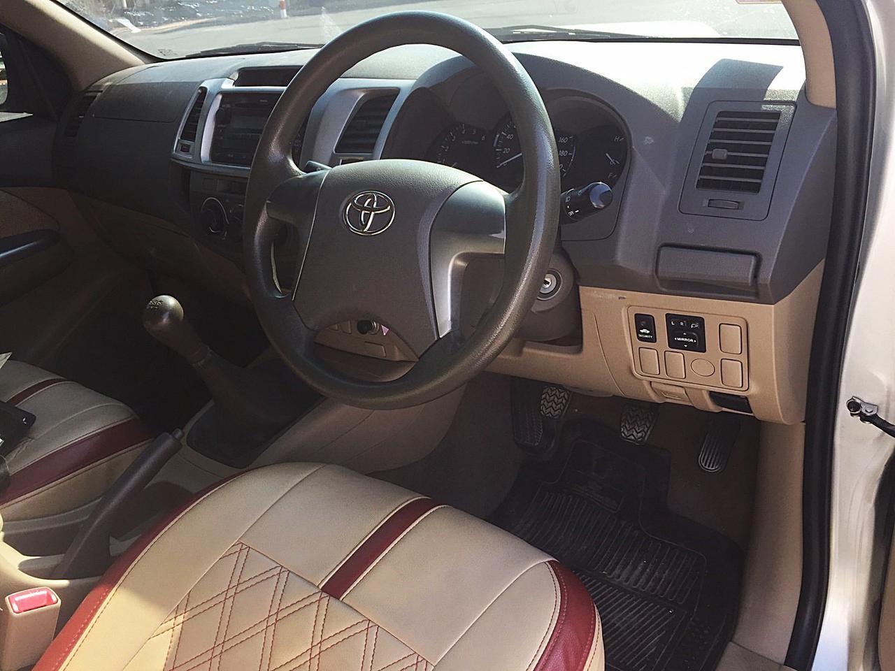 ✅ ฟรีดาวน์ TOYOTA VIGO PRERUNER ปี12-14 รถกระบะ 4 ประตู โตโยต้า วีโก้ รถบ้าน รถมือเดียว รุ่นท็อป รถมือเดียว รูปที่ 4