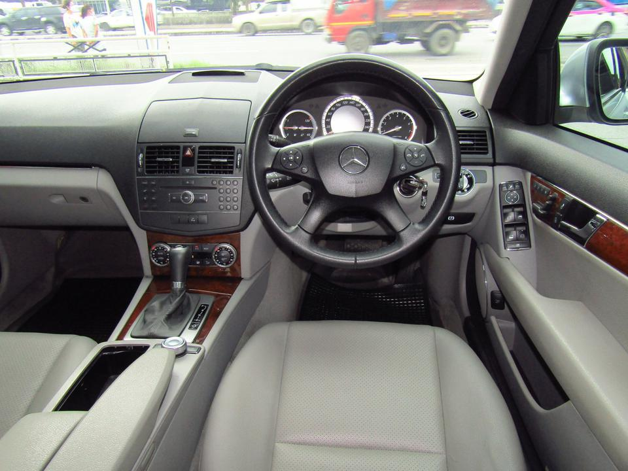 ⭐ ฟรีดาวน์ ออกรถ 0 บาท Benz C 200 K ELEGANCE ปี 2008 W 204 เบ็นซ์ รถบ้าน รถมือสอง รูปที่ 4