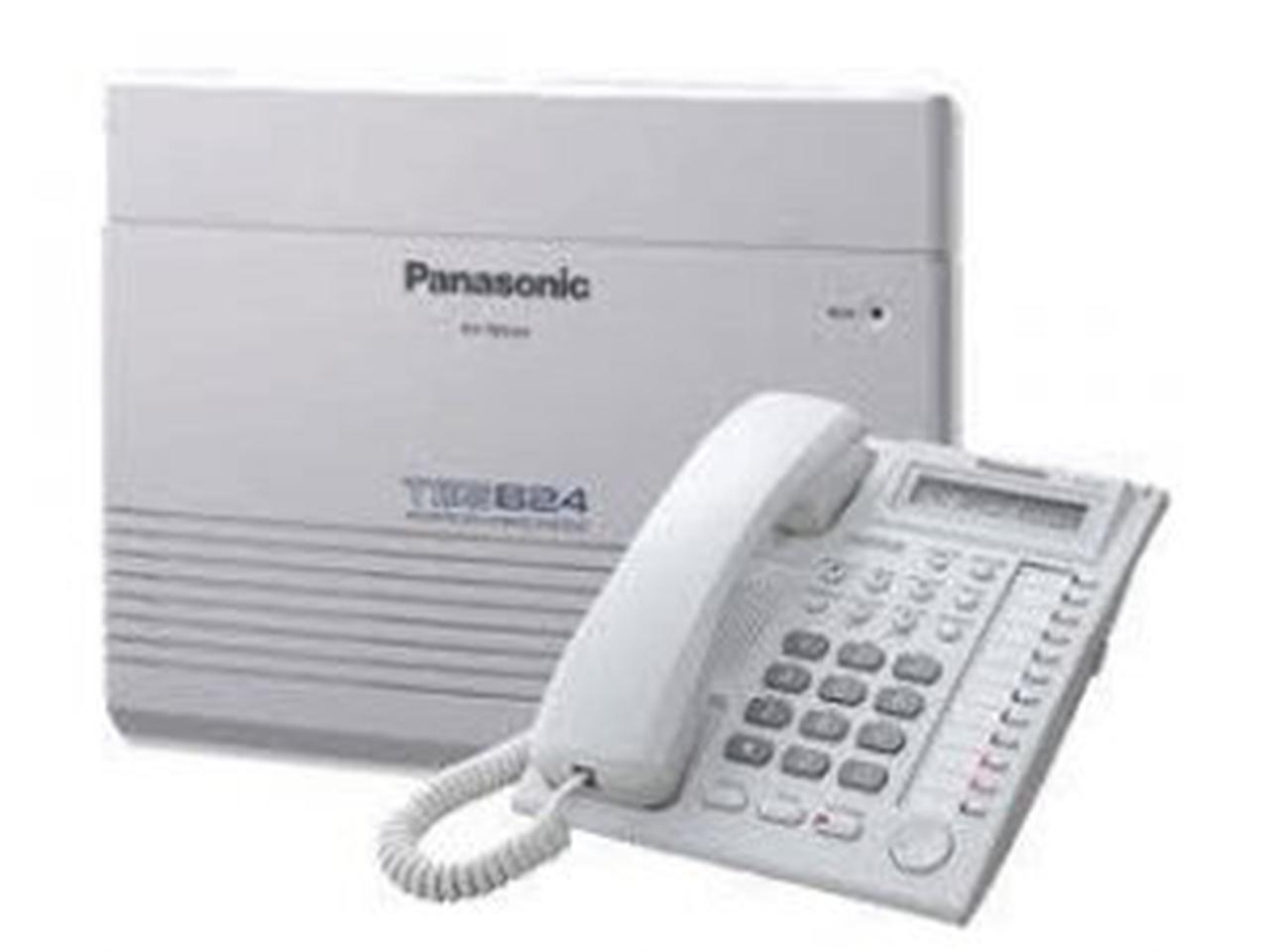 ตู้สาขาโทรศัพท์ panasonic ราคาถูก รุ่น KX-TES824BX 3 สายนอก 8 สายใน รูปที่ 1