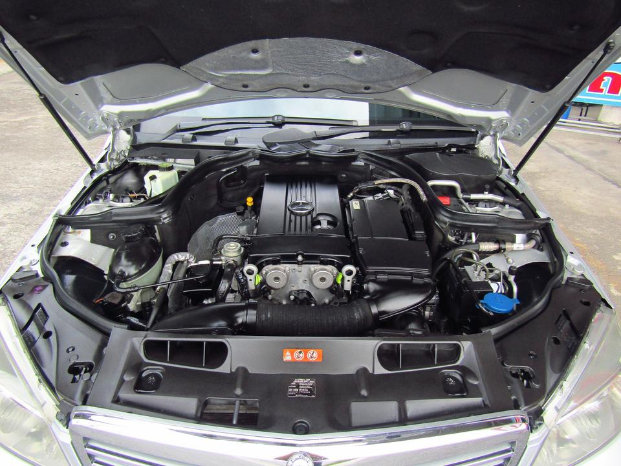 ⭐ ฟรีดาวน์ ออกรถ 0 บาท Benz C 200 K ELEGANCE ปี 2008 W 204 เบ็นซ์ รถบ้าน รถมือสอง รูปที่ 6