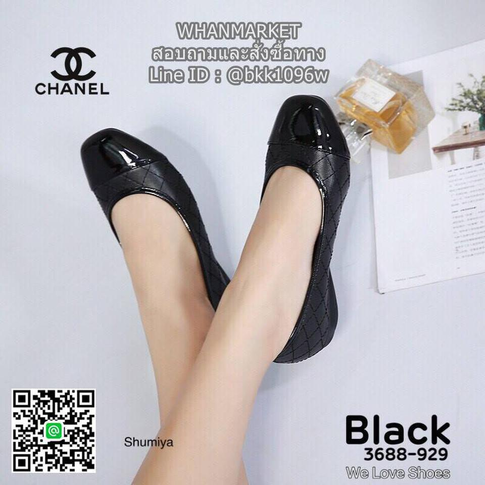 รองเท้าคัชชู งานสไตล์ Chanel งานหนังนิ่ม ส้นสูง 1 นิ้ว รูปที่ 3