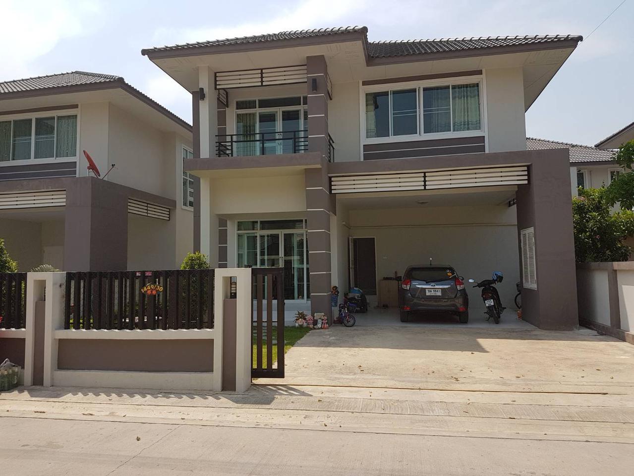 บ้านใหม่สวย ตกแต่งพร้อมเข้าอยู่ การเดินทางสะดวกสบาย เหมาะสำหรับซื้อเพื่ออยู่อาศัย รูปที่ 1