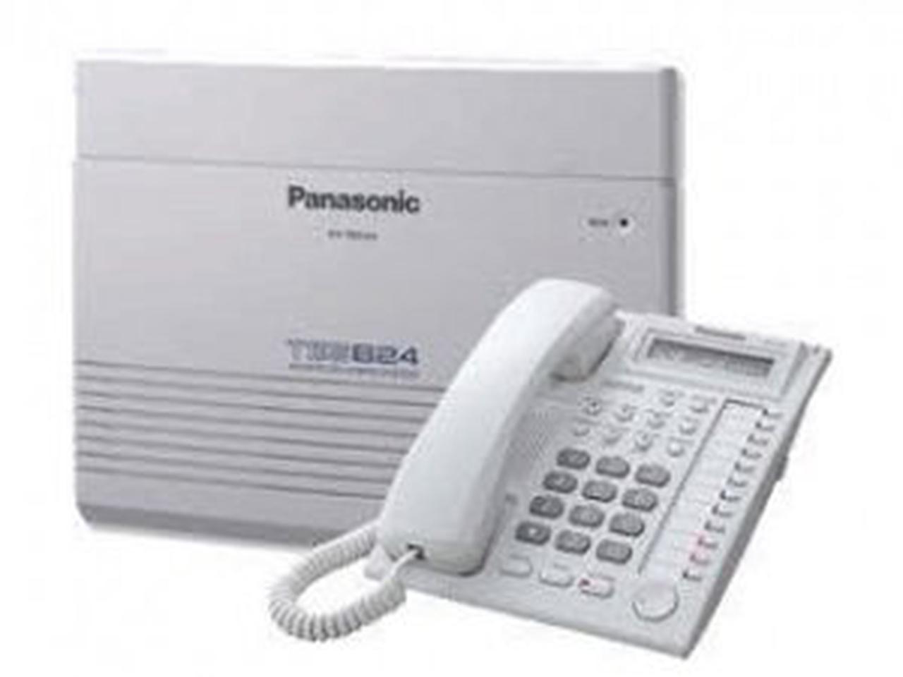 ตู้สาขาโทรศัพท์ panasonic รุ่น KX-TES824BX 3 สายนอก 8 สายใน รูปที่ 1